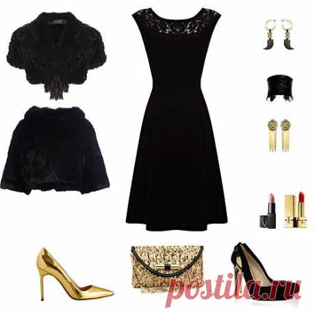 ораз с черным платьем