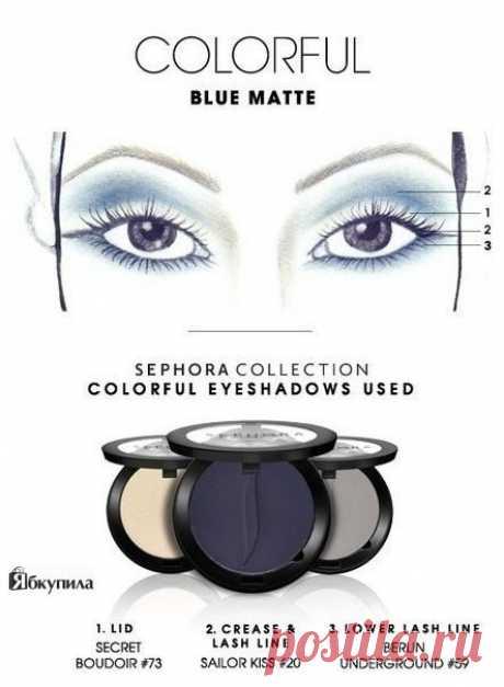 Идеи макияжа для голубых и карих глаз