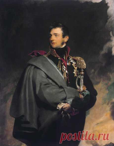 Сэр Томас Лоуренс (Thomas Lawrence),1769-1830.  Князь Михаил Семенович Воронцов (1782-1856)