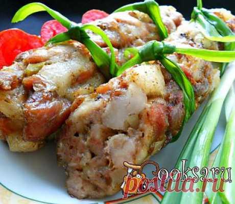 Домашние колбаски (без кишок) рецепт с фото