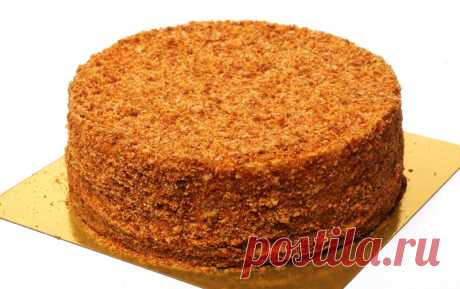 Пошаговый рецепт с фотографиями: Как испечь медовые коржи для торта Медовик