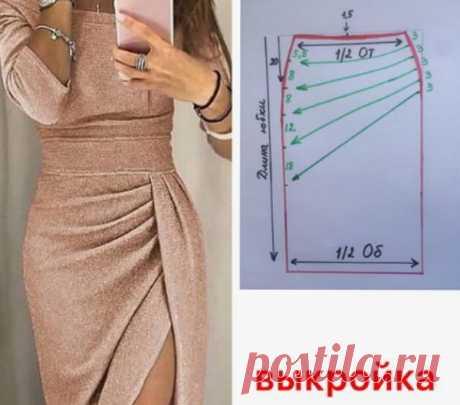 Красивые выкройки - юбка и платье