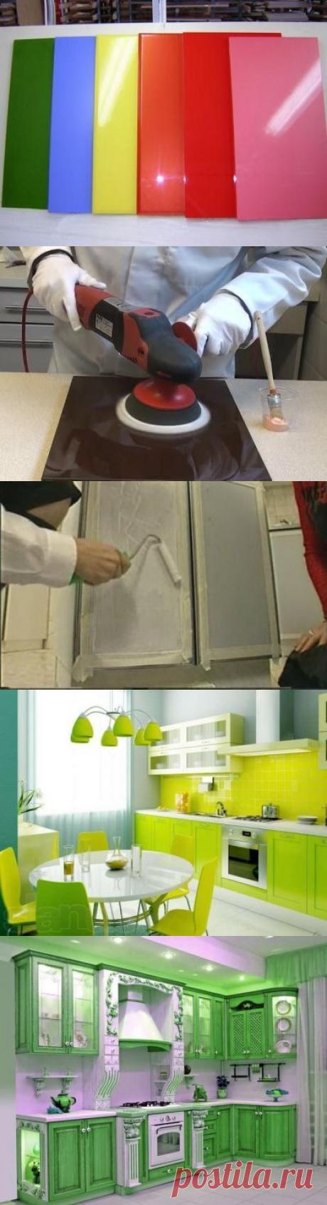 Чем покрасить фасад кухни из мдф