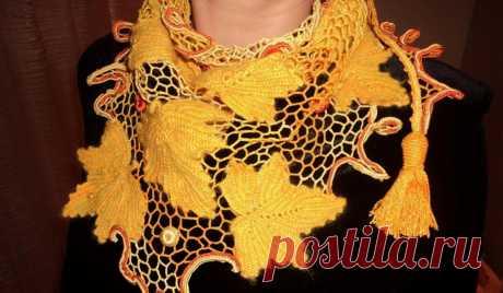 Мотивы ирландского кружева могут и аппликацией послужить, и в изделии составляющей быть   Ольга knits спицами и крючком   Яндекс Дзен