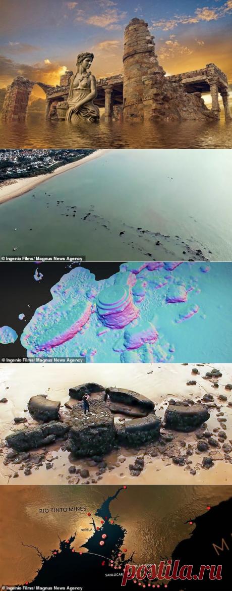 Ученые разглядели Атлантиду на фото из космоса | Капитал страны