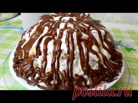 Торт Панчо шоколадный, цыганка готовит. Gipsy cuisine.
