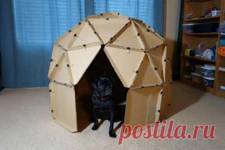 Пошив собачьего домика-палатки собственноручно по пошаговой инструкции