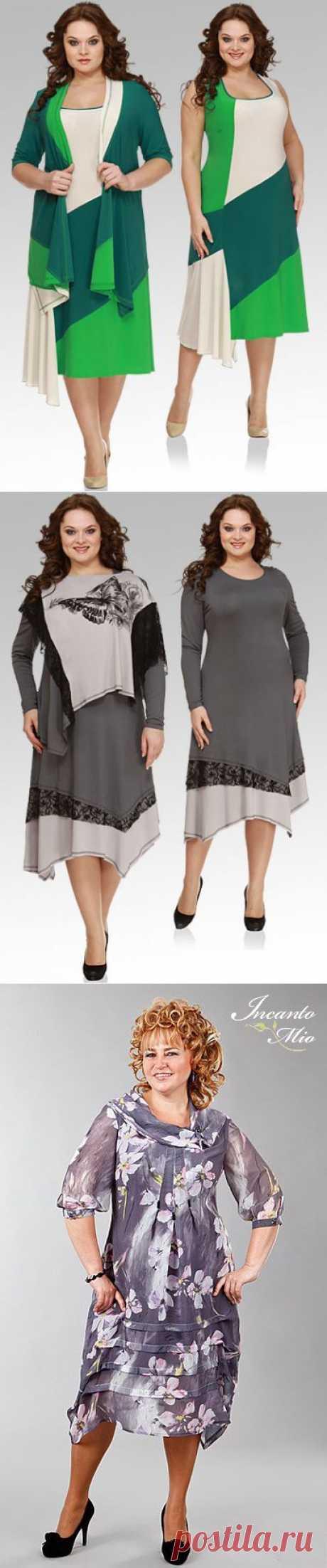 Повседневная одежда для женщин весомых достоинств - 2.