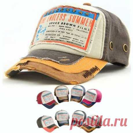 baseball cap Picture - More Detailed Picture about Summer Outdoors Retro Chapeu Hat Distressed Baseball Cap For Women's or Men's Vintage Bone Cheap Gorra Adjustable Casquette S168 Picture in from Retro World.