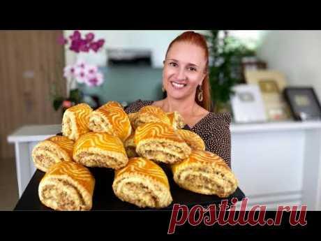 Великолепная ГАТА КЯТА с ореховой начинкой Печенье Рулетики Восточные сладости Люда Изи Кук cookies
