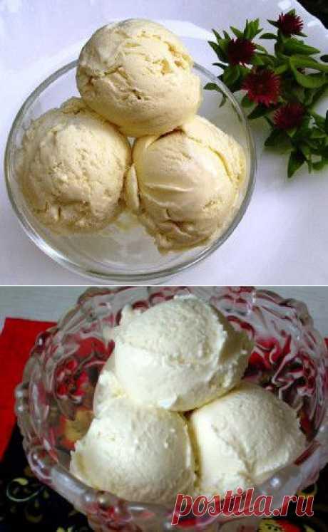 Домашнее сливочное мороженое - Рецепты блюд готовим еду