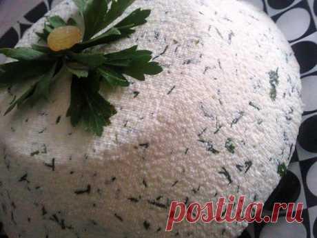 Домашний сыр (без закваски)..