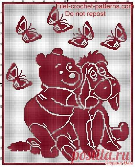 Схемы, схемы, схемы... Жаккард, филейное вязание - Страна Мам
