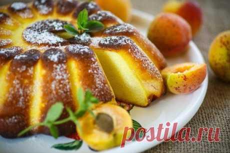 Десерт из манки — Лимонный манник.