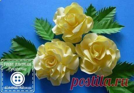 Розы из бумаги на скорую руку / Популярная астрономия