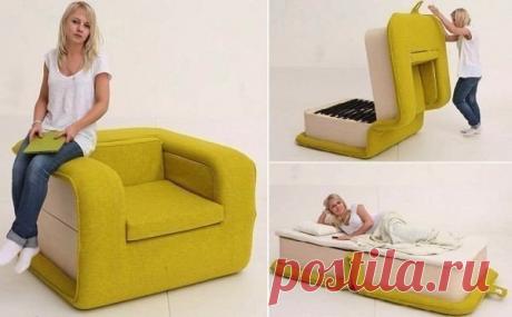 Кресло-кровать, каким вы его еще не видели