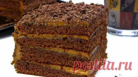 Быстрый торт «Спартак» без заморочек за 30 минут! ТОРТ, который готовится с удовольствием! Шоколадный обалденно - вкусный медовый торт СПАРТАК за 30 минут. Простой, быстрый, без раскатки коржей медовик!