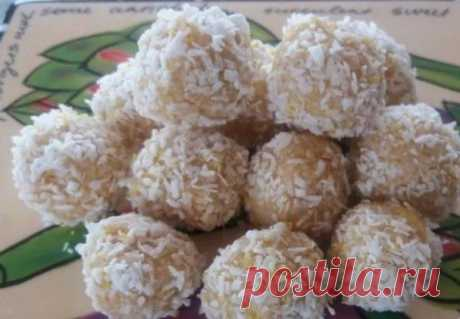 Candies from cottage cheese