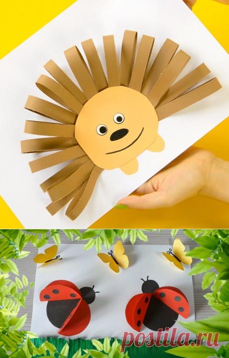 Поделки из бумаги своими руками с простой инструкцией для начинающих. Креативные решения создания поделок из бумаги своими руками с обзорами красивых изделий