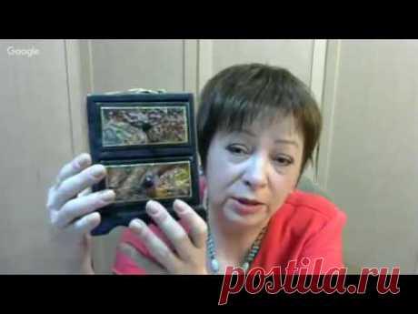 Фирдаус Батдалова шкатулка с розами