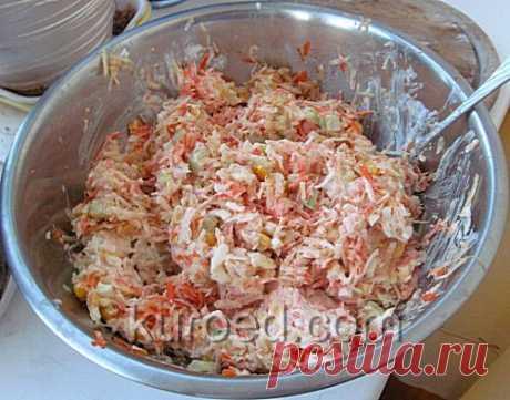 РЕЦЕПТЫ   Зимний салат
