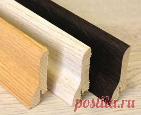 Самостоятельный монтаж деревянного плинтуса без особых хлопот — Самострой