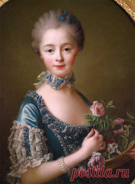 Франсуа-Юбер Друэ (Francois-Hubert Drouais, French, 1727-1775). Портрет.