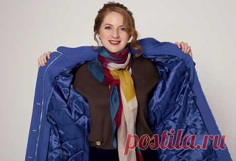Пристегивающаяся утепленная подкладка.  Если у вас есть несколько любимых, но легких пальто, этот курс будет уникальной возможностью дополнить зимний гардероб утеплёнными вещами. Достаточно будет сшить подстёжку в тон подкладки и надевать без пристёгивания.