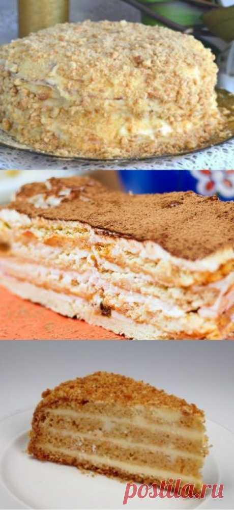 Торт, который готовится без духовки - Счастливый формат