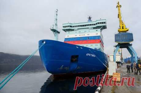 «Арктика» будущего. Теперь у России есть самый мощный в мире ледокол Головной корабль уникального проекта принят в эксплуатацию, несмотря на пессимистический настрой скептиков