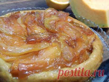 Карамельный тыквенно-апельсиновый пирог. - YouTube
