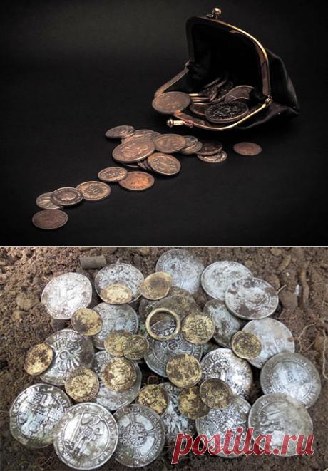 Монета— денежный магнит вкошелек: способ привлечь богатство