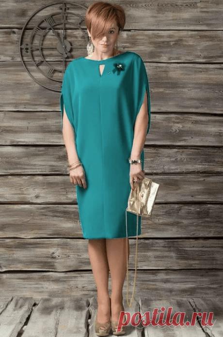 Платье прямого силуэта – очень простая выкройка (Шитье и крой) – Журнал Вдохновение Рукодельницы