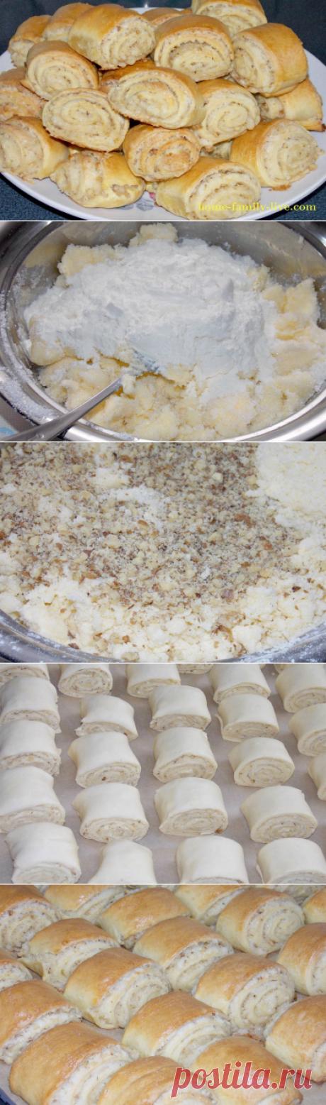 Азербайджанская выпечка кята/Сайт с пошаговыми рецептами с фото для тех кто любит готовить