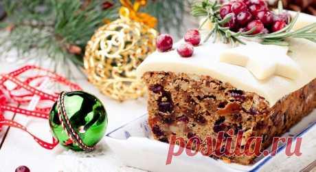 Как испечь вкусный английский рождественский кекс. Рецепты имбирного, мандаринового, и ромового с сухофруктами рождественского кекса с фото, описанием и видео