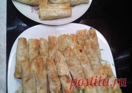 (20) Трубочки из армянского лаваша - пошаговый рецепт с фото. Автор рецепта gala 🏃♂️ . - Cookpad