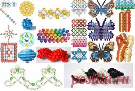 Мозаичное плетение бисером для начинающих, схемы