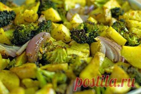 Картошка с брокколи в духовке: рецепты вкусных блюд | Хитрости жизни