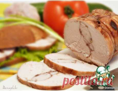 Пастрома из куриной грудки в винном маринаде – кулинарный рецепт