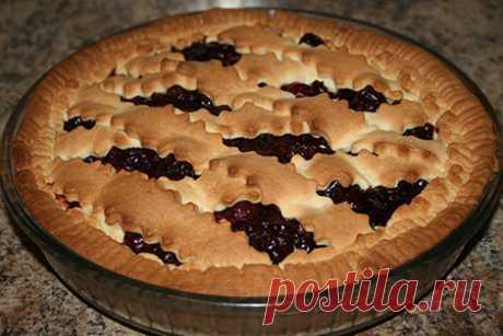 """""""Рубиновый&quot pie; with cherry"""