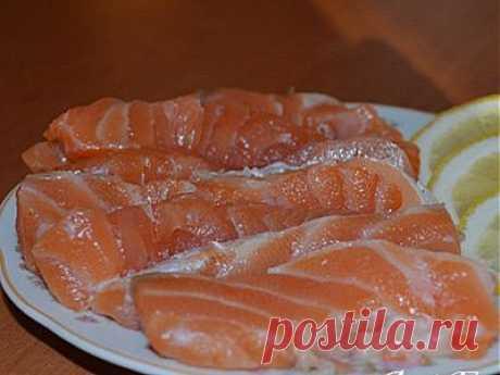 Рыбные Блюда | Рыба красная соленая