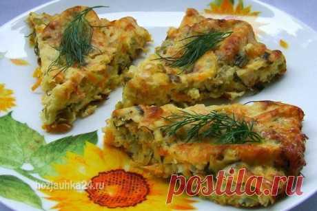 El tostado de hortalizas con el queso