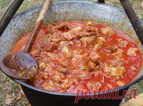 """Невероятно вкусный суп """"Бограч"""""""