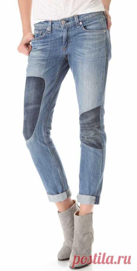 Интересные джинсовые детали (трафик) / Детали / ВТОРАЯ УЛИЦА