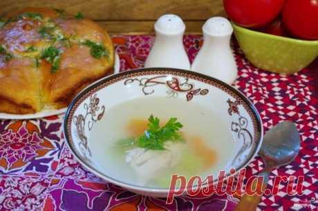 Куриный бульон с пампушками - пошаговый рецепт с фото на Повар.ру