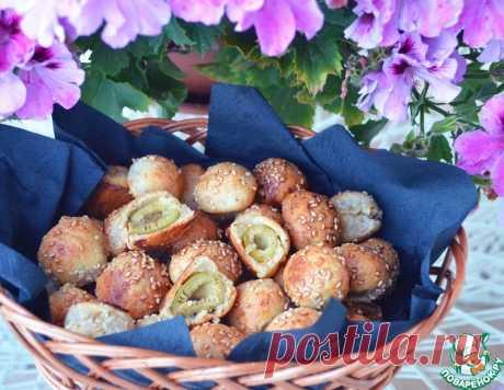 Оливковые колобки – кулинарный рецепт