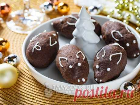 Пирожное «Картошка» на Год Свиньи — рецепт с фото пошагово. Пирожное «Картошка» - не очень сладкий, но очень симпатичный десерт на Новый год Свиньи 2019.