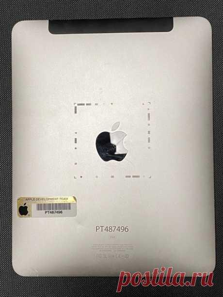 Прототип iPad самого первого поколения