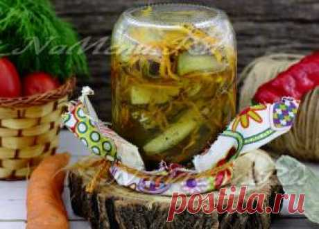 Огурцы по-корейски, самый вкусный рецепт на зиму
