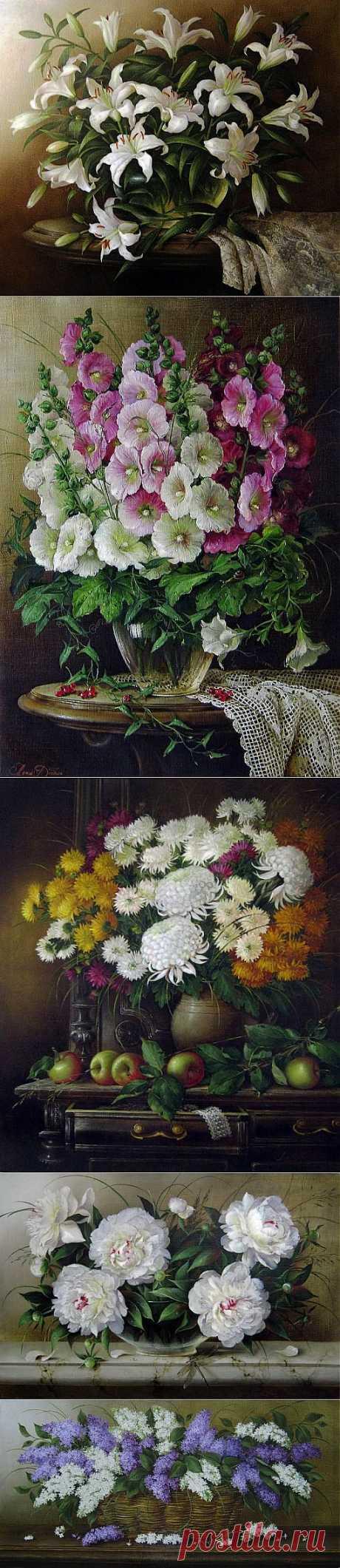 (+1) тема - Натюрморты художницы Елены Добель | Искусство